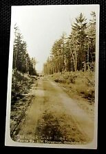Vintage Photo Postcard BLACKDUCK LAKE ROAD MINNESOT antique Halverson Beltrami