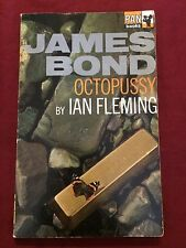 Octopussy by Ian Fleming - 1968 James Bond vintage UK pb