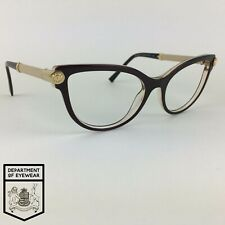 VERSACE eyeglasses BROWN CATS EYE glasses frame MOD: 3270-Q 5300