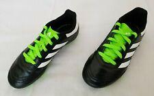 Kids Size 13K Black White Green Adidas Goletto VI FG Soccer Cleats BB0570 used