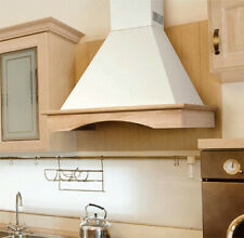 "Italian Nt Air Range Hood Wall Mounted Wood 36"" Chr-115 Country Style"