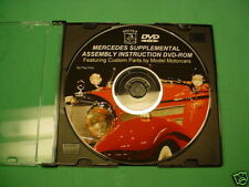 POCHER 1/8 MERCEDES SUPPLEMENTAL INSTRUCTION CD/DVD-ROM
