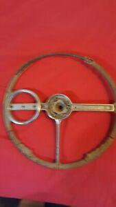 """1940 Chevrolet Deluxe Optional """"Spinner"""" Steering Wheel"""