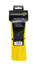 CycleOps Trainer Tire 700 X 23c Smooth Bike Bicycle Road Hybrid (Yellow) 9711