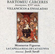 Bartomeu Càrceres · Anonymes, XVIe siècle - Villancicos & Ensaladas