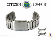 Citizen Eco-Drive AT4011-57L Silver-Tone Titanium Watch Band Strap