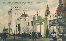 1910 Exposition Universelle Bruxelles Pavillon Espagnol Spanish Pavilion