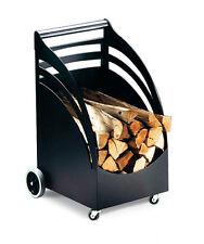 Carrello PORTALEGNA accessorio stufa caminetto in acciaio APROS ulisse