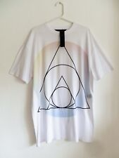 MARC BY MARC JACOBS WHITE OVERSIZED T-SHIRT/DRESS  OS