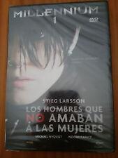 Millennium 1 Los Hombres that No Aamaban a Las Ladies DVD Stieg Larsson New