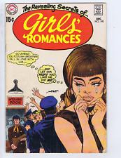 Girls' Romances #145 DC Pub 1969
