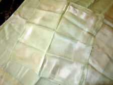 Vintage Mint Green Square Tablecloth 48x48 & 7 Matching Napkins - Reduced!