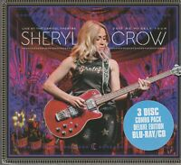 Sheryl Crow Live at Capitol Theatre 2017  3 Disc Deluxe1 Blu-Ray 2 CDs