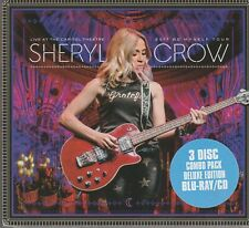 Sheryl Crow. Live at Capitol Theatre 2017 . 3 Disc Deluxe.1 Blu-Ray 2 CDs