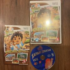 Go Diego Go Safari Rescue (Wii) Complete Tested & Fast Shipping