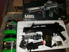 DOUBLE EAGLE GUNS M85 Inbox w/ accessories ultrasonic bbs parts mega lot