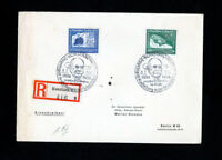 Germany Cover FDC w/ Stamps #C59-60 Registered Cover Rare