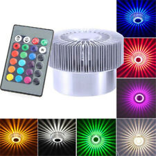 Remote Control Ceiling Fixture Lamp RGB Color Changing 3w LED Spot Down Light