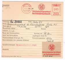 Schlüssel Schlosser Berlin 1938 Innung Schlosserhandwerk AFS Archivkarte Unikat