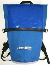 Bicycle Drybag Ortlieb Waterproof Backpack Blue Rucksack Rare Bag Cycling