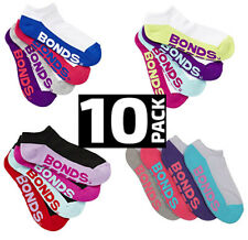 10 Pairs Bonds Womens Sports Quarter Ankle OR Low Cut Running Ladies Socks