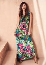 Kaleidoscope Tropical Print Maxi Dress Size 12 RE076 GG 12