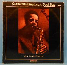 GROVER WASHINGTON SOUL BOX VOL 1 LP 1973 ORIGINAL PRESS GREAT COND! VG++/VG+!!