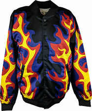 Bam Bam Bigelow Flames WWE Chalkline Jacket