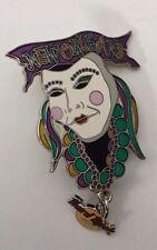 Hard Rock Cafe New Orleans Mardi Gras Mask Logo Charm Dangler Pin