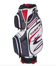 New 2020 Cobra 14-Way Ultralight Peacoat/High Risk Red/White Cart Golf Bag