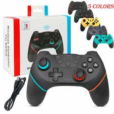 Inalámbrico Bluetooth Gamepad Joystick Pro Controlador de Juego para Nintendo Switch Navidad