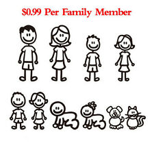 Lovely Family Member Auto Truck Car Sticker Decal Decoration Vinyl Art Removable