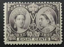 Canada #56, MH OG, Queen Victoria Jubilee Issue 1897, Small Thin