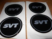 FORD SVT MUSTANG COBRA CONTOUR LIGHTNING FOCUS WHEEL CENTER CAP EMBLEMS 2 1/2 IN