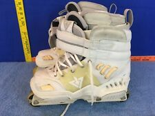 Rollerblade Alpha TRS Inline Skates size 8 us MISSING SMALL RUBBER PIECES