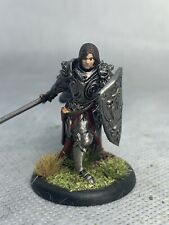 Paladin Painted Miniature for D&D or Pathfinder Fantasy RPG