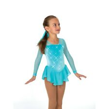 Figure Skating Competition Dress Jerrys 14 Tiffany Blue  CM 8-10