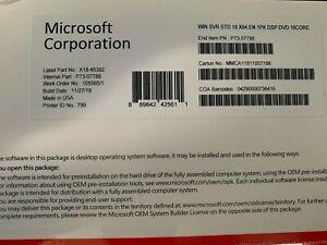 Microsoft Windows Server 2019 Standard x64 bit 16 core Dvd + Product Key