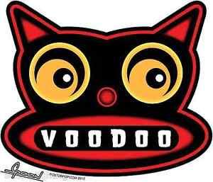 Voodoo Cat Sticker Decal Chico Von Spoon CVS13