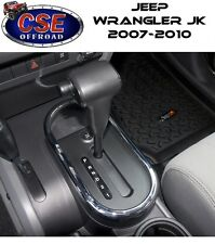 Auto Shifter Bezel Trim Chrome Jeep Wrangler JK 2007-2010 11156.02 Rugged Ridge