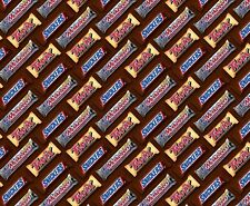 CANDY BARS PACKED BROWN FABRIC