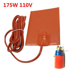 Portable Car Truck Engine Heater Oil Pan Tank Heater 175W 110V Pad Heater Orange