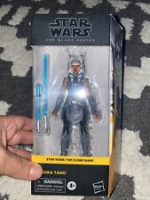 STAR WARS BLACK SERIES THE CLONE WARS AHSOKA TANO IN HAND!
