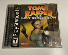 New listing Tomb Raider: The Last Revelation Sony PlayStation Ps1 Ps-X Complete Black Label