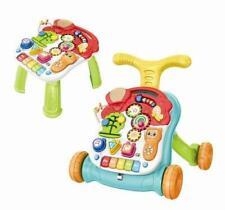 2 in 1 Baby Walker & Table Musical Walker Pull & Twist Toys My First Walker UK
