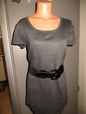Body Central Medium Sweater dress.  NWOT.  Charcoal grey.  cap sleeve