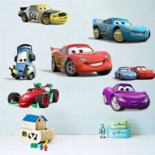 24 Pcs Disney Cars PixarCartoon Wall Art Kids Nursery Boy Decor Vinyl Decal Gift