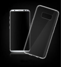 TPU SILICONE CLEAR CASE FOR SAMSUNG GALAXY S8 TRANSPARENT SOFT COVER SILICON LOT