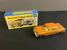 VINTAGE MATCHBOX SUPERFAST MERCEDES 300 SE. - NO. 46 - BOXED