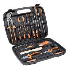 57 tlg Werkzeugkoffer mit Werkzeug Set Werkzeugkasten Werkzeugkiste Hammer